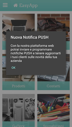 Inviare notifiche push illimitate